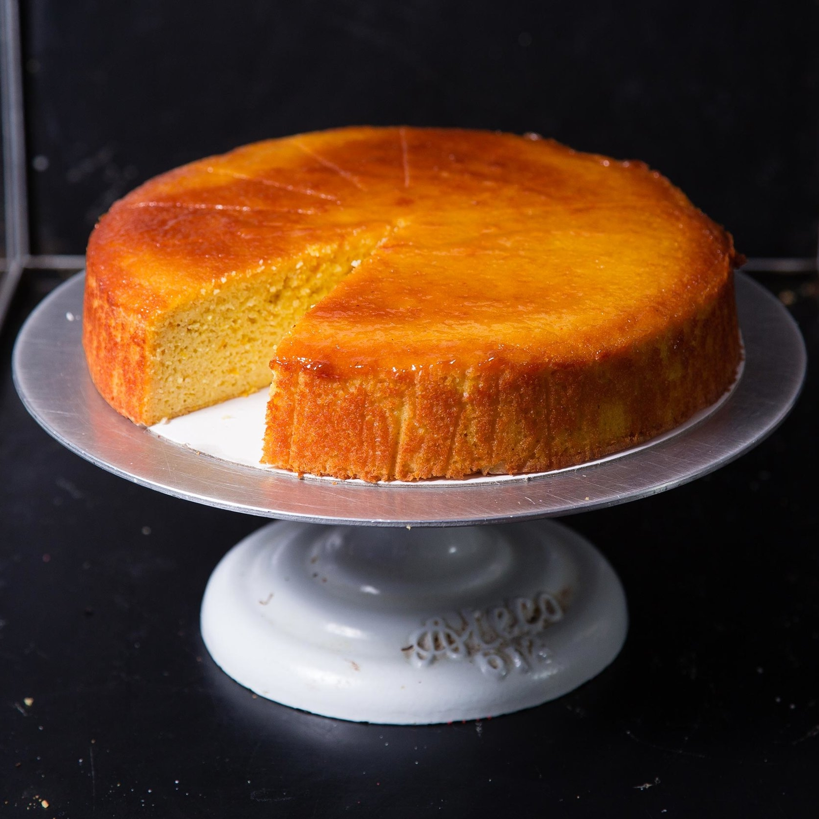 Wheat-free flourless Clementine cake