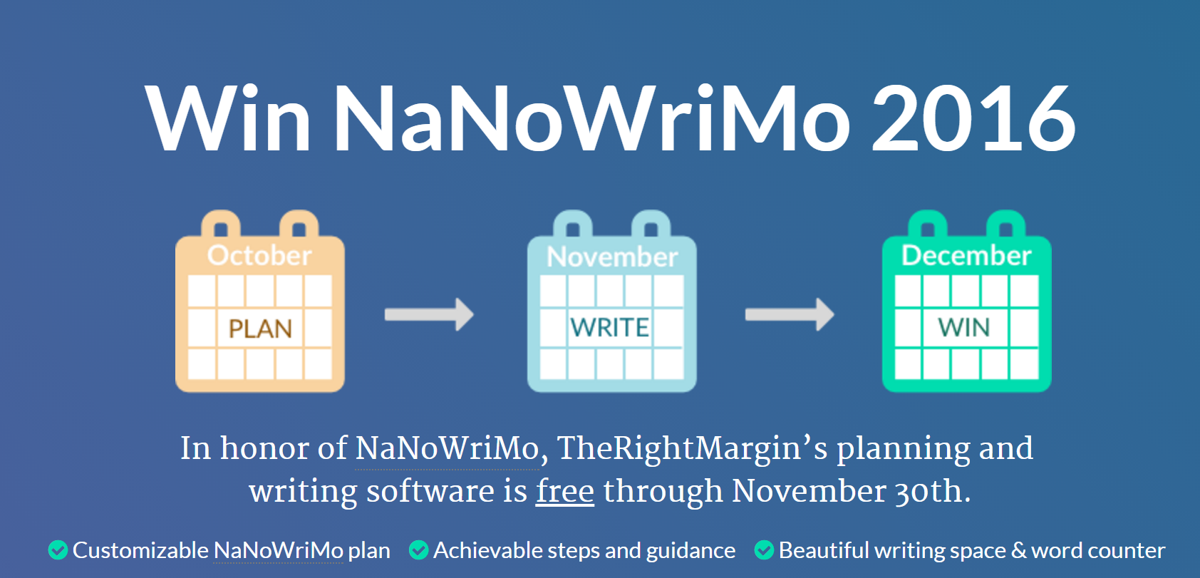 NaNoWriMo 2016   TheRightMargin.png