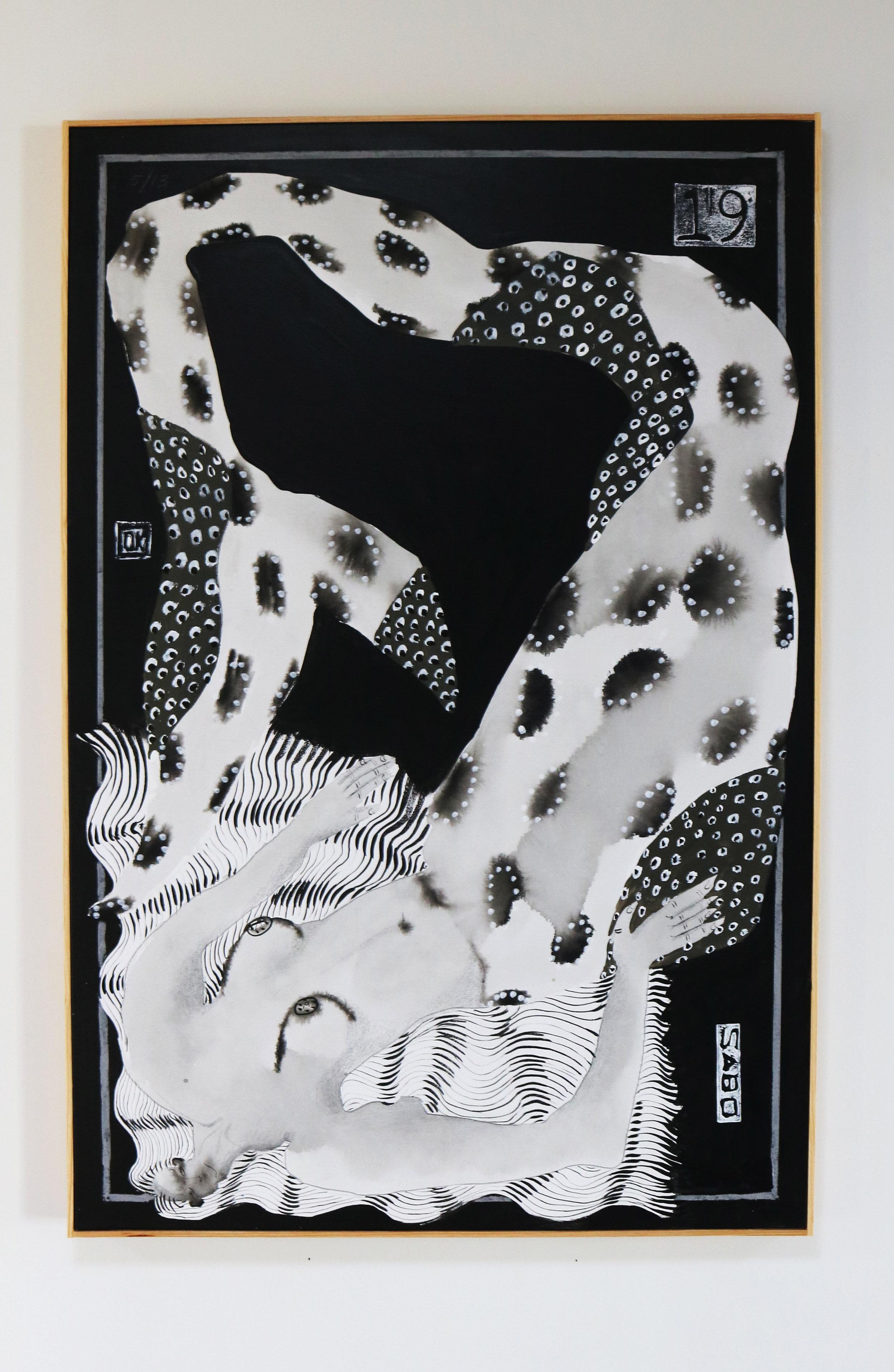 "5/33""donna noir"" - 24 x 36"