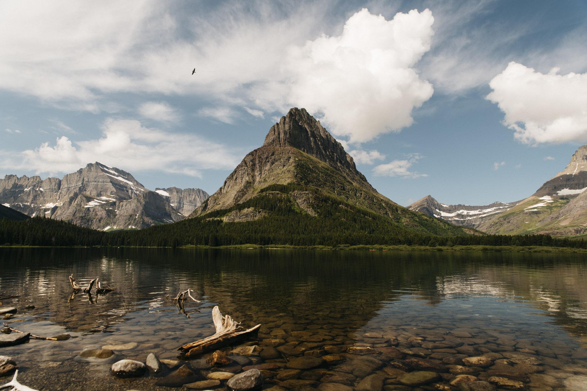 Swiftcurrent Lake at Glacier National Park