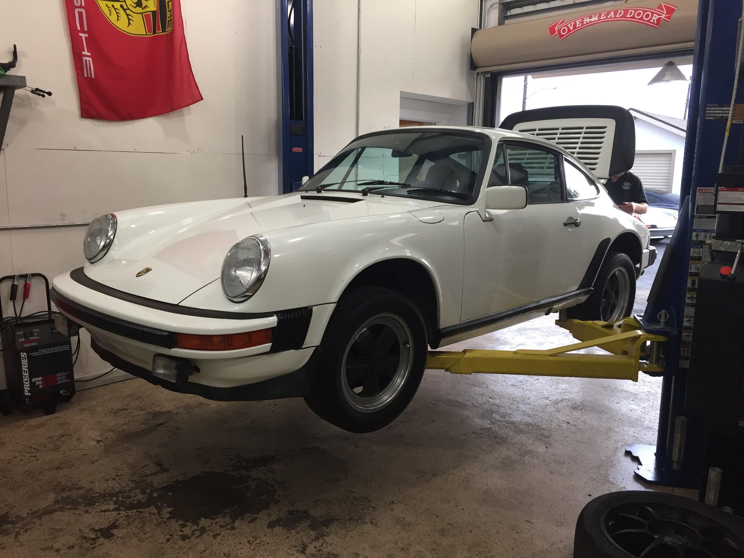 The post-purchase inspection at Modern Aircooled