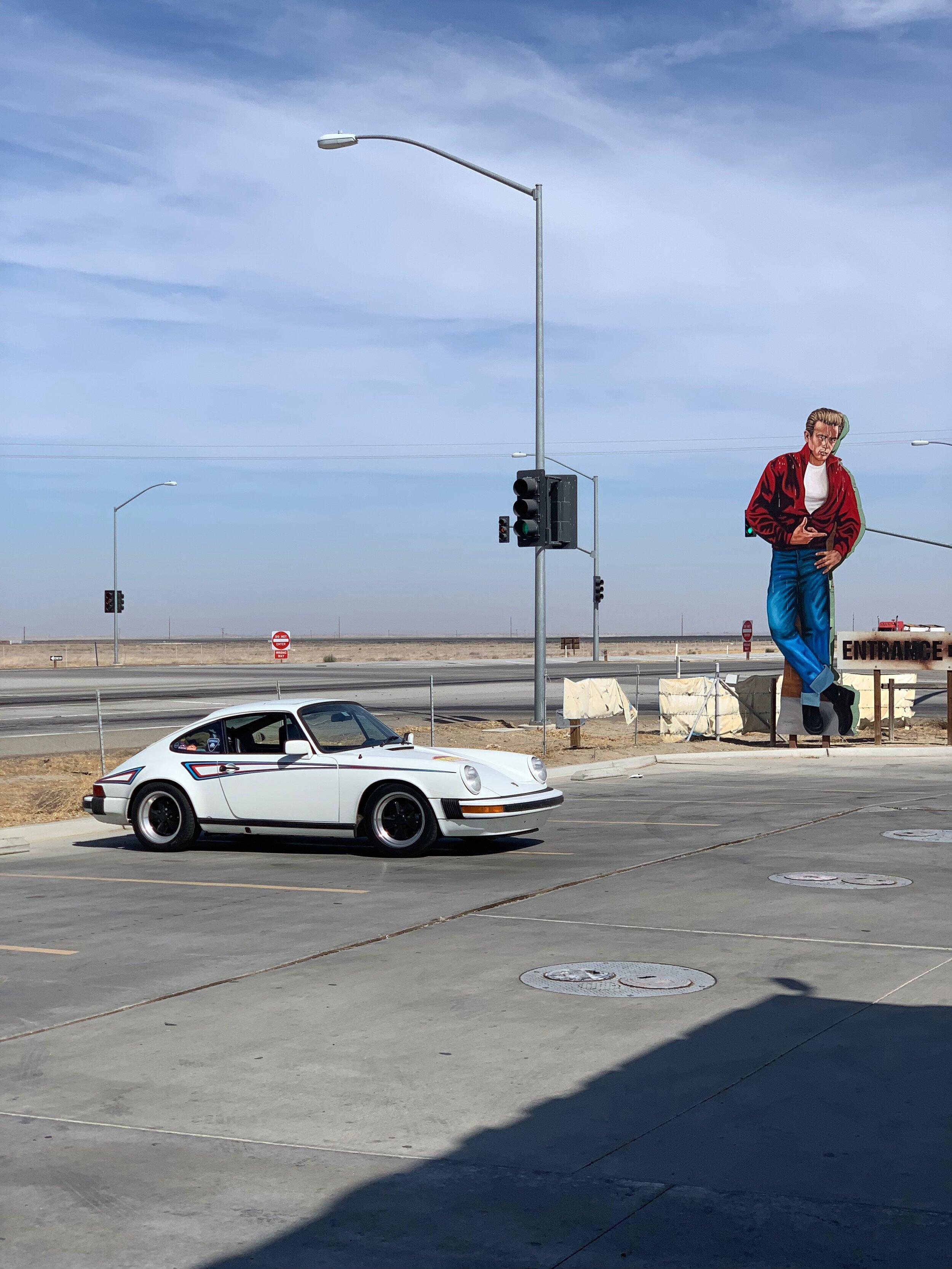 James Dean's last gas stop