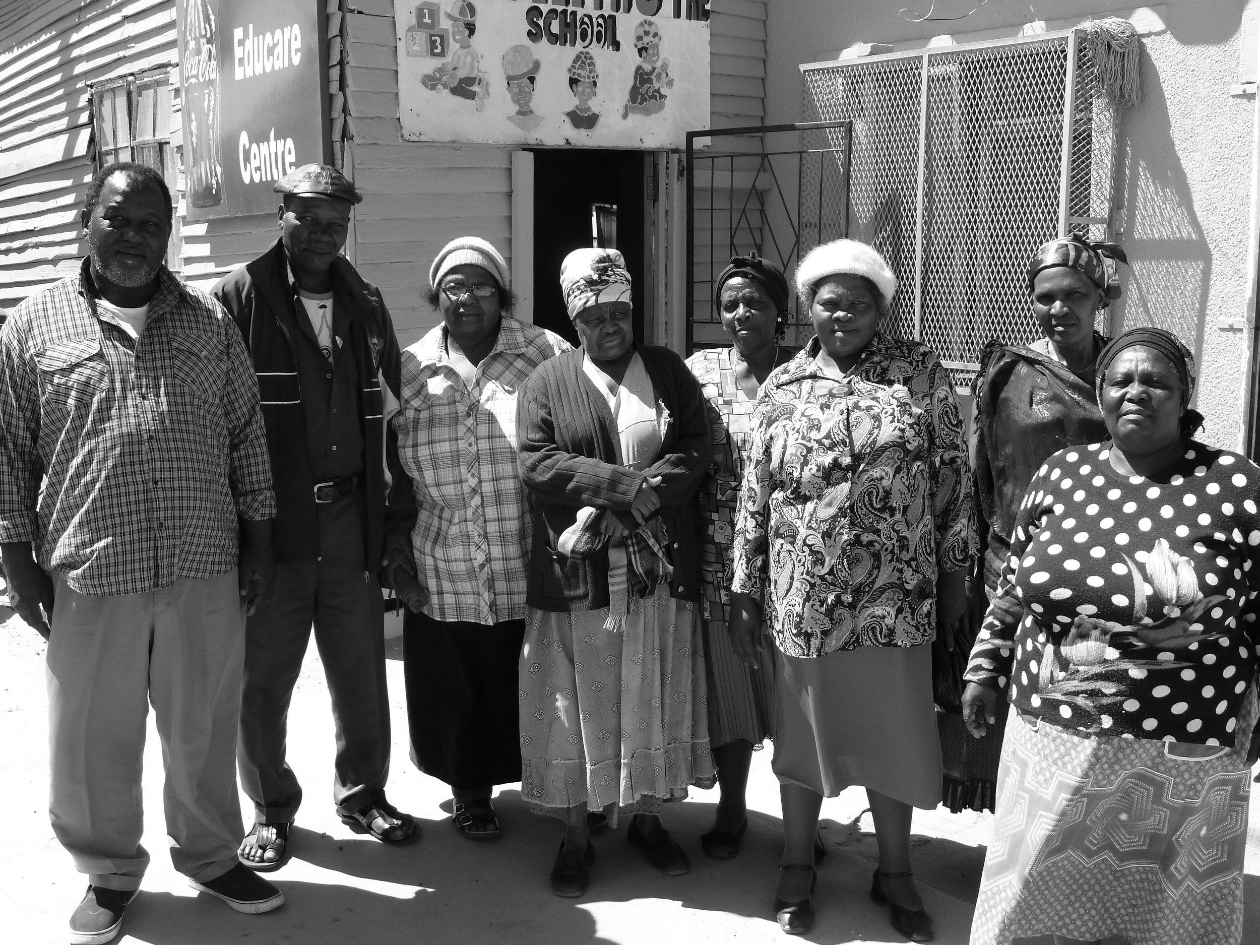 2a. Kate in Khayelitsha with Nyanga squatters, 2011.JPG