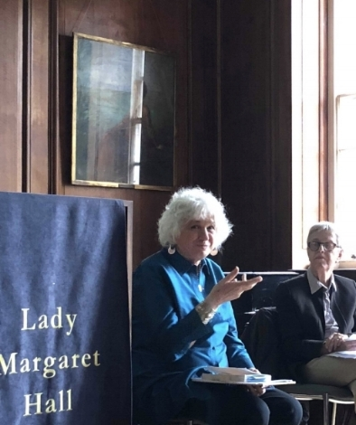 Seminar at International Gender Studies (IGS) - Lady Margaret Hall, OXFORD UNIVERSITY:October 2018, in conversation with Dr. Angela Raven-RobertsTitle: Mapping My Way Home: Reflections on Writing Feminist History As Memoir