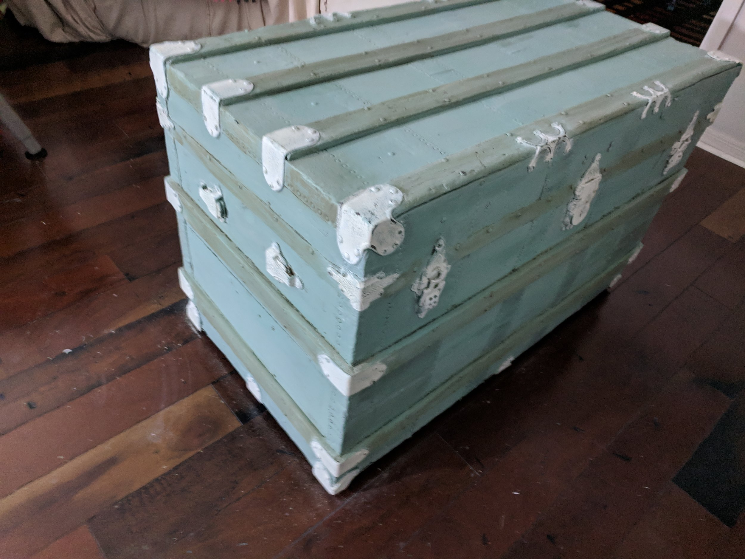 old trunk first coat.jpg