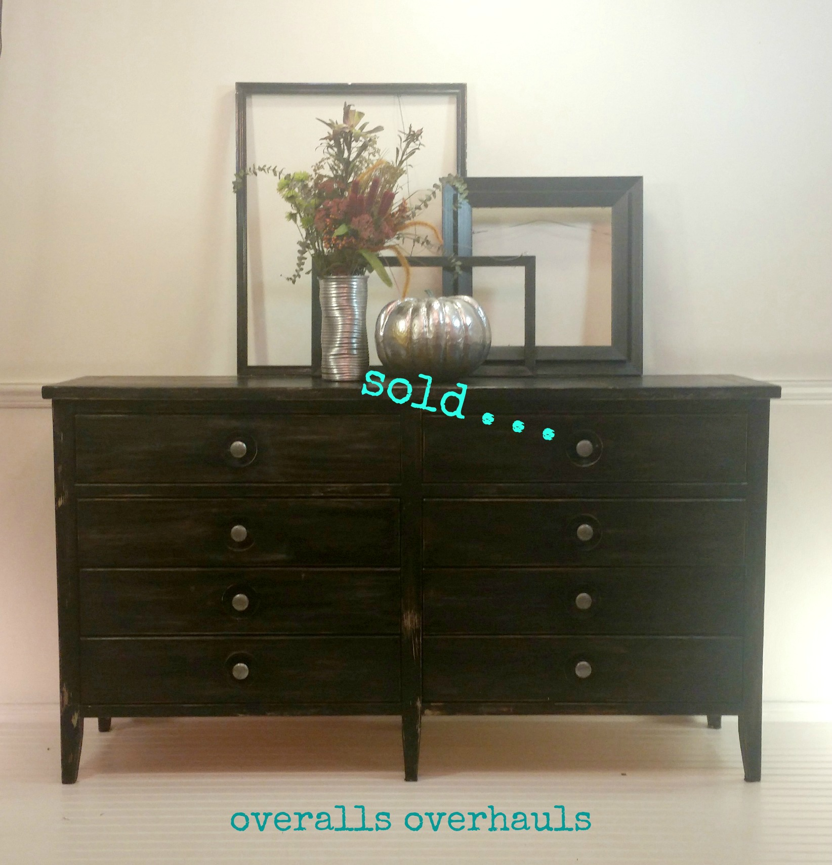 Distressed buffet / dresser / console. Unavailable. Finish can be recreated on a piece you own or on a piece I help you find.