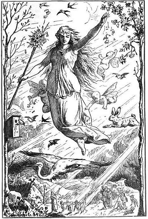 Ostara by Johannes Gehrts - Gifts for Mystics