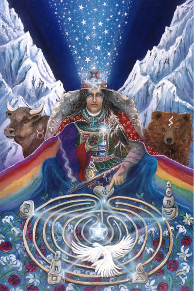 Hierophant, Star Tarot - Gifts for Mystics