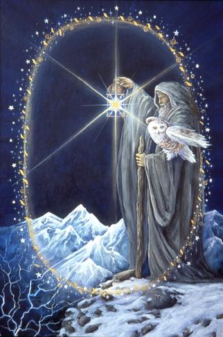 Hermit, Star Tarot - Gifts for Mystics