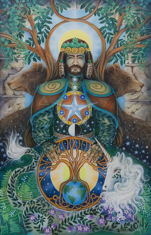 King Pentacles, Star Tarot - Gifts for Mystics