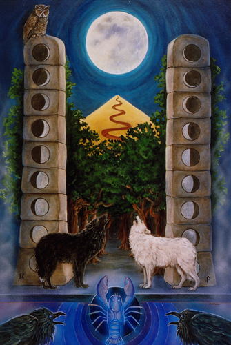 The Moon, Star Tarot - Gifts for Mystics