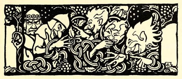Arthur Rackham: Irish Fairy Tales - Gifts for Mystics