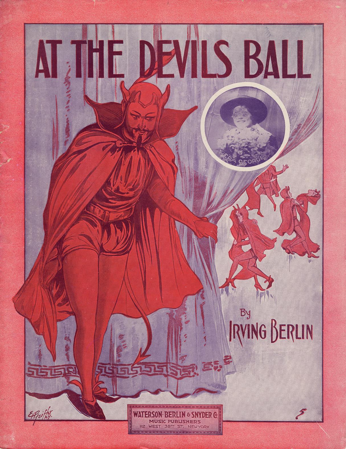 Castle Ragtime Devils Ball - Gifts for Mystics