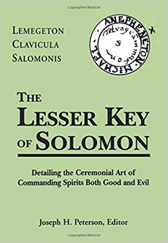 Lesser Key of Solomon - Gifts for Mystics