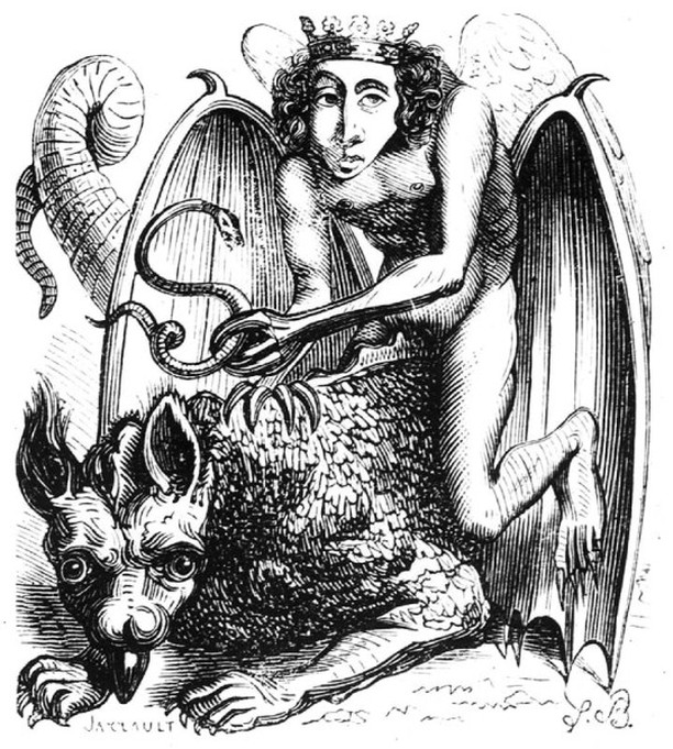 Magic(k): Black and White and Read All Over - Ahh the inter-webs! sending me on rambling, inspired journeys. Ever wonder what the difference is between witchcraft, magic(k) and shamanism? Here's a little push.  Link in Bio  Image is Astaroth, First Hierarchy. Demon. Illustration from Dictionnaire Infernal by Jacques August Simon Collin de Plancy 1818. Illustrator, Louis Le Breton.  #Magick #CeremonialMagick #WTFIsWitchcraft #72Demons #TheGrimoires #KingSolomon #FirstTempleAtJerusalem #AncientTexts #ArsGoetia #JakeStrattonKent #RuneSoup #WitchcraftVsShamanism #TheWitch #TheShaman #TheMagician #WitchesOfInsta #WritersOfInsta #Magic #GiftsForMystics