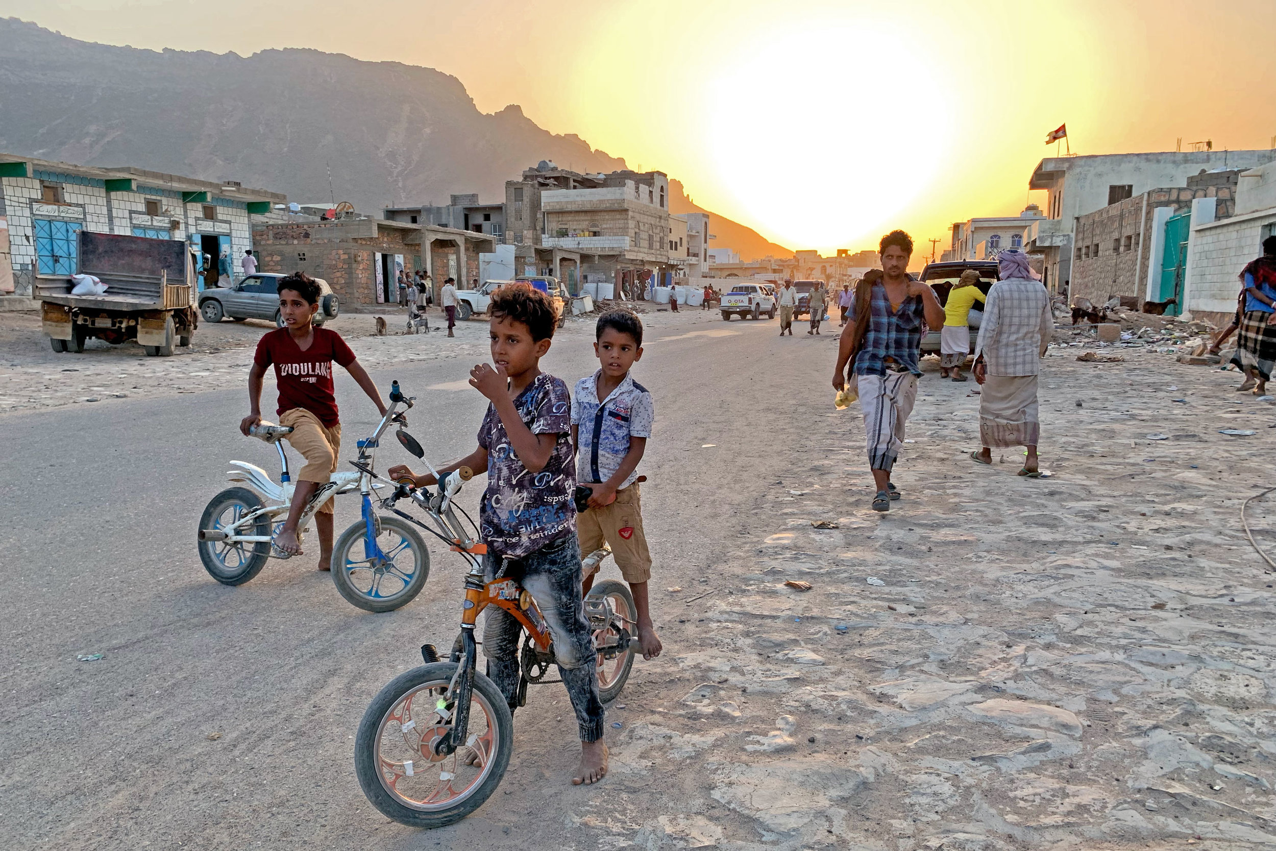 Hadibo street scene