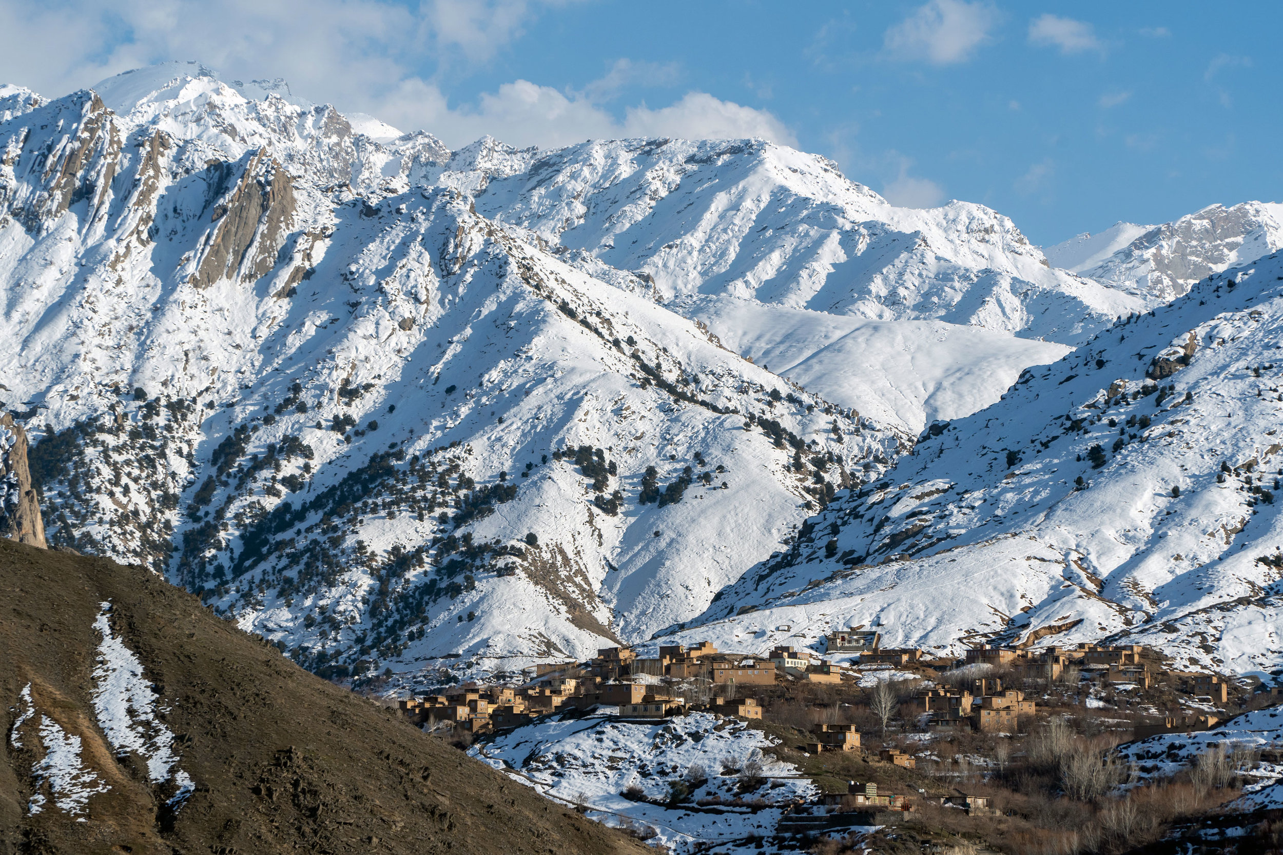 Village in the Panjshir Valley