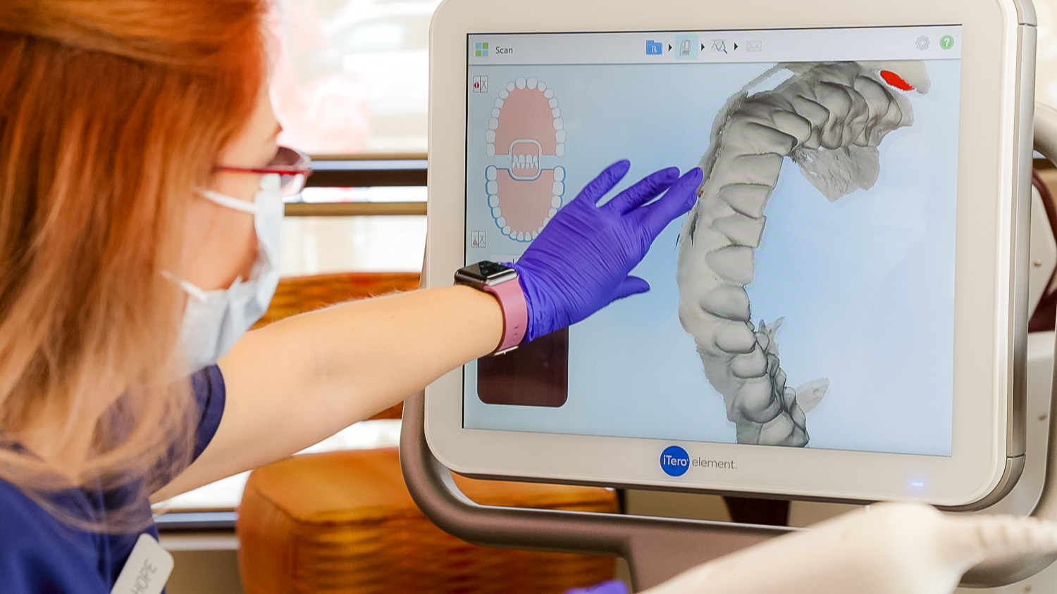 We make a perfect scan of your teeth and show you how your teeth will look when you are done wearing metal braces or clear braces, like Invisalign.