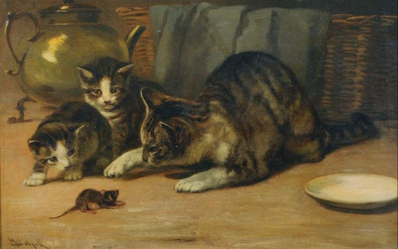 Public domain image painted by  John Henry Dolph