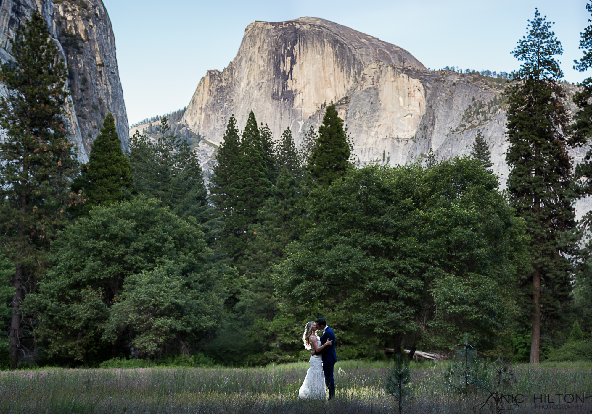 Majestic Hotel Wedding Photography Half Dome