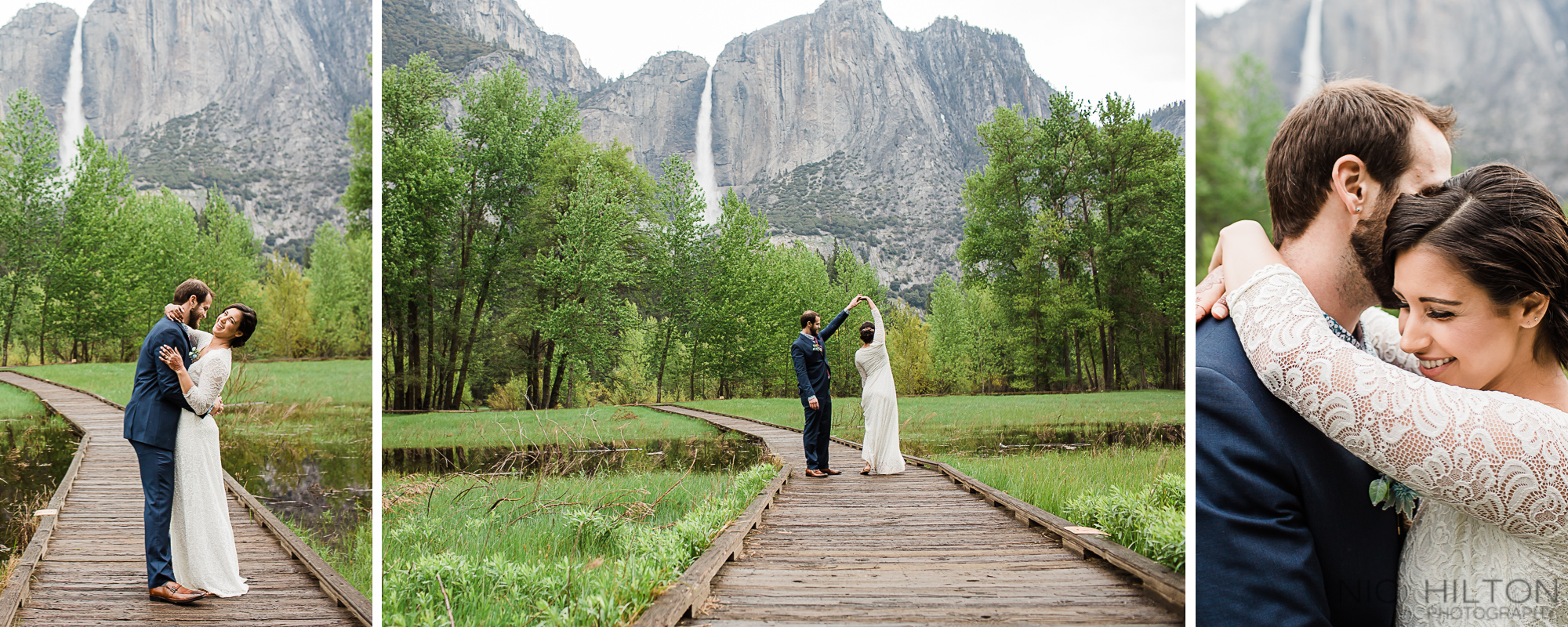 Yosemite Falls Wedding Photography