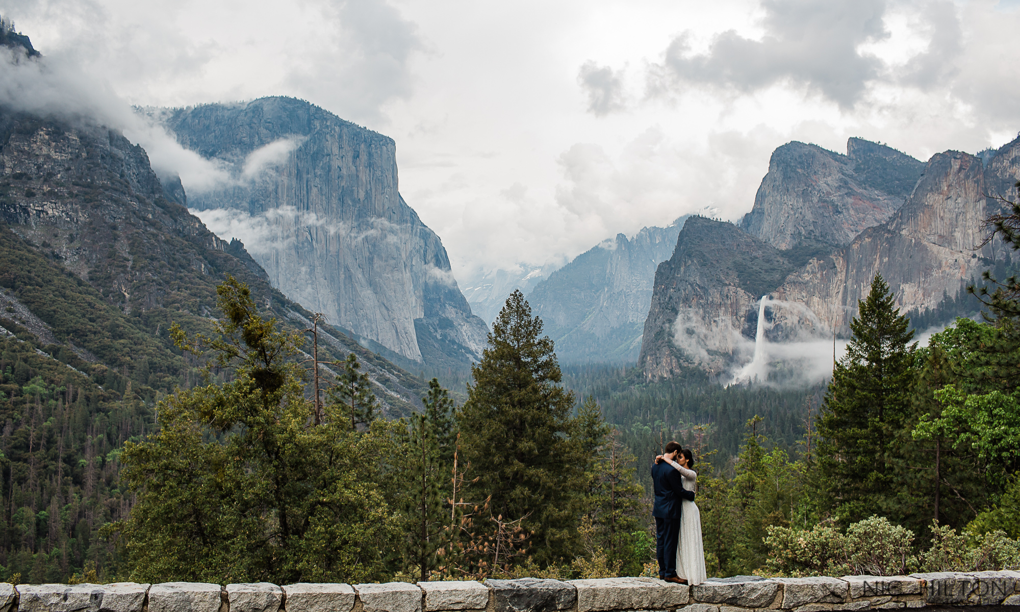 Yosemite Valley Elopement Photography