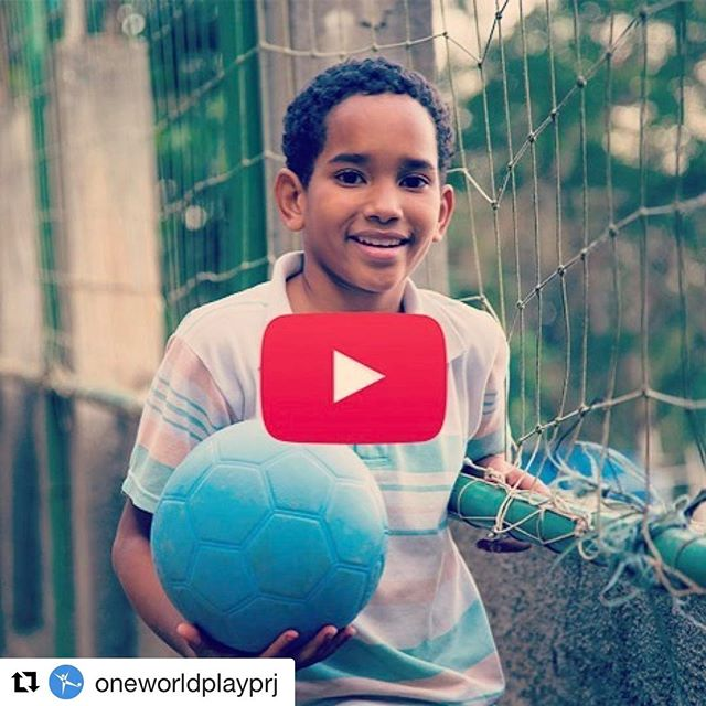 #Repost @oneworldplayprj ・・・ It's Monday, which means we've released PART THREE of our story featuring @BrilliantImages and his friends on their 10,000-mile drive to the 2014 World Cup. ⚽🏆🚙. This week we have something REALLY special - Jeremie's documentary of the entire trip from California to Brazil, featuring all of the stops they took to donate One World Futbols. 👉 Watch it here: http://onewrld.co/2pbyvsU
