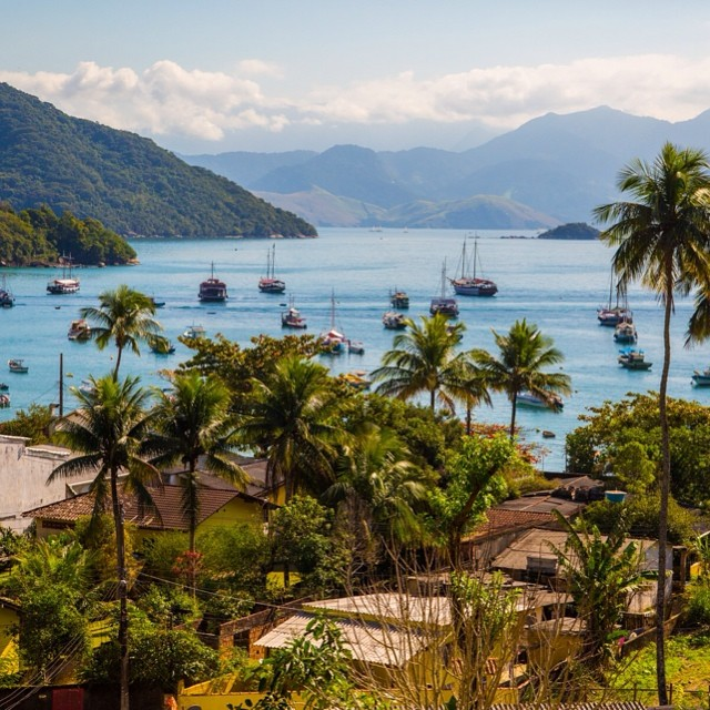 #BomDia from #IlhaGrande!  A #beautiful little #island #paradise with no cars, tucked away somewhere between #sãopaulo and #riodejaneiro!  #travel #wanderlust #overland #Rio #worldcup #awesome