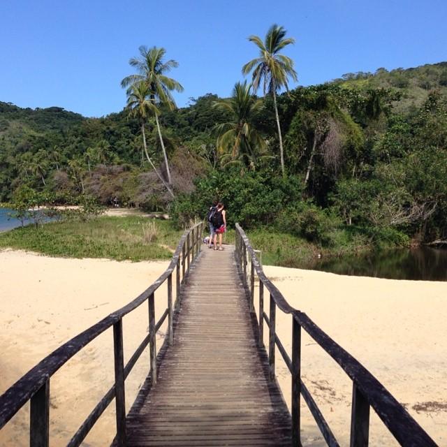 #bomdia!!!! From #IlhaGrande!  #Travel #nature #wanderlust #beautiful #bridge #overland #rio #brazil #brasil #riodejaneiro