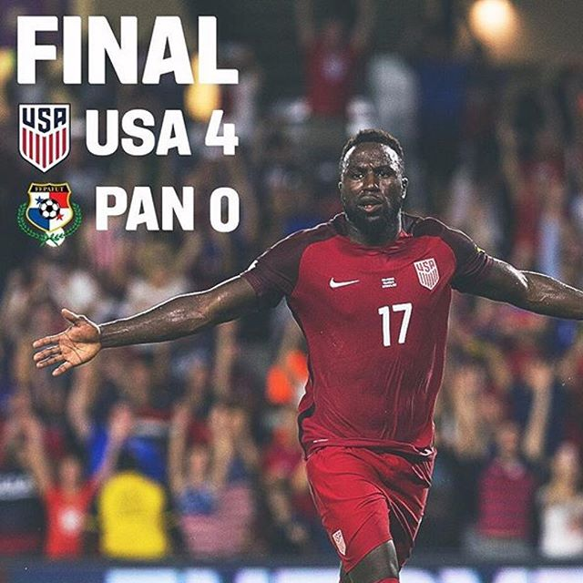 Yeeeeahh... we'll take that!!! With a win against Trinidad & Tobago 🇹🇹 on Tuesday, USA 🇺🇸 will qualify for the 2018 #fifaworldcup in Russia.  LETS GO!!!!! #travelwithpurpose #Fifa #Russia #futbol