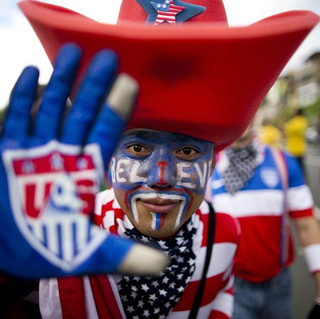 TODAY IS THE DAY. 🇺🇸 Today is the day that #USMNT can guarantee their spot in the #Fifa World Cup next year in #Russia.  Not only do we believe that we will win, but we believe today is going to be #Epic!!! The Game against Trinidad 🇹🇹 starts at 8pm Eastern time.  The US is 18-2-4 vs. Trinidad.  #Believe #LETSGO #USA #AO #AmericanOutlaws