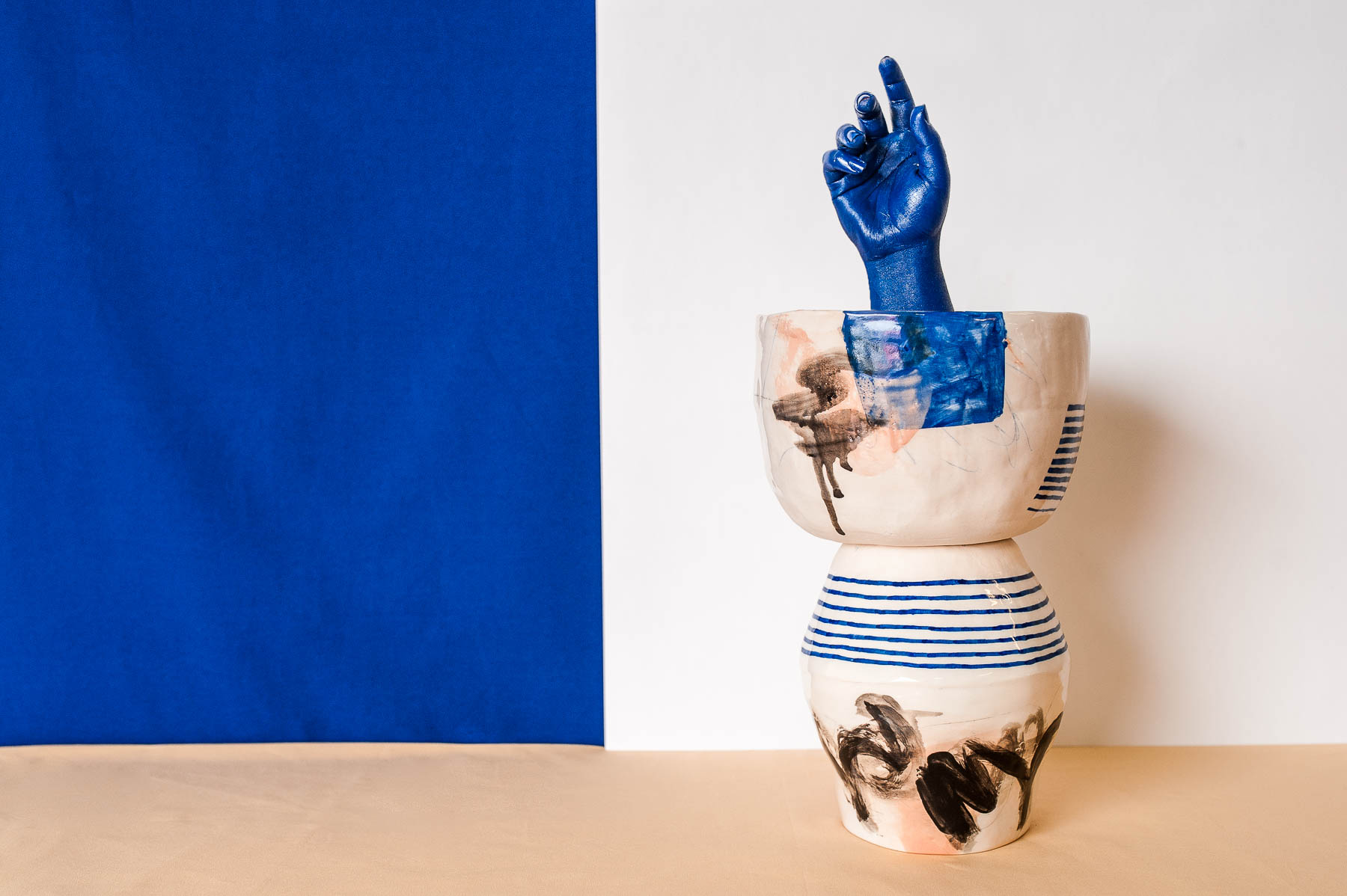 Peta Berghofer, Mid-funk, Vase & Large Bowl, 2017 (2).jpg