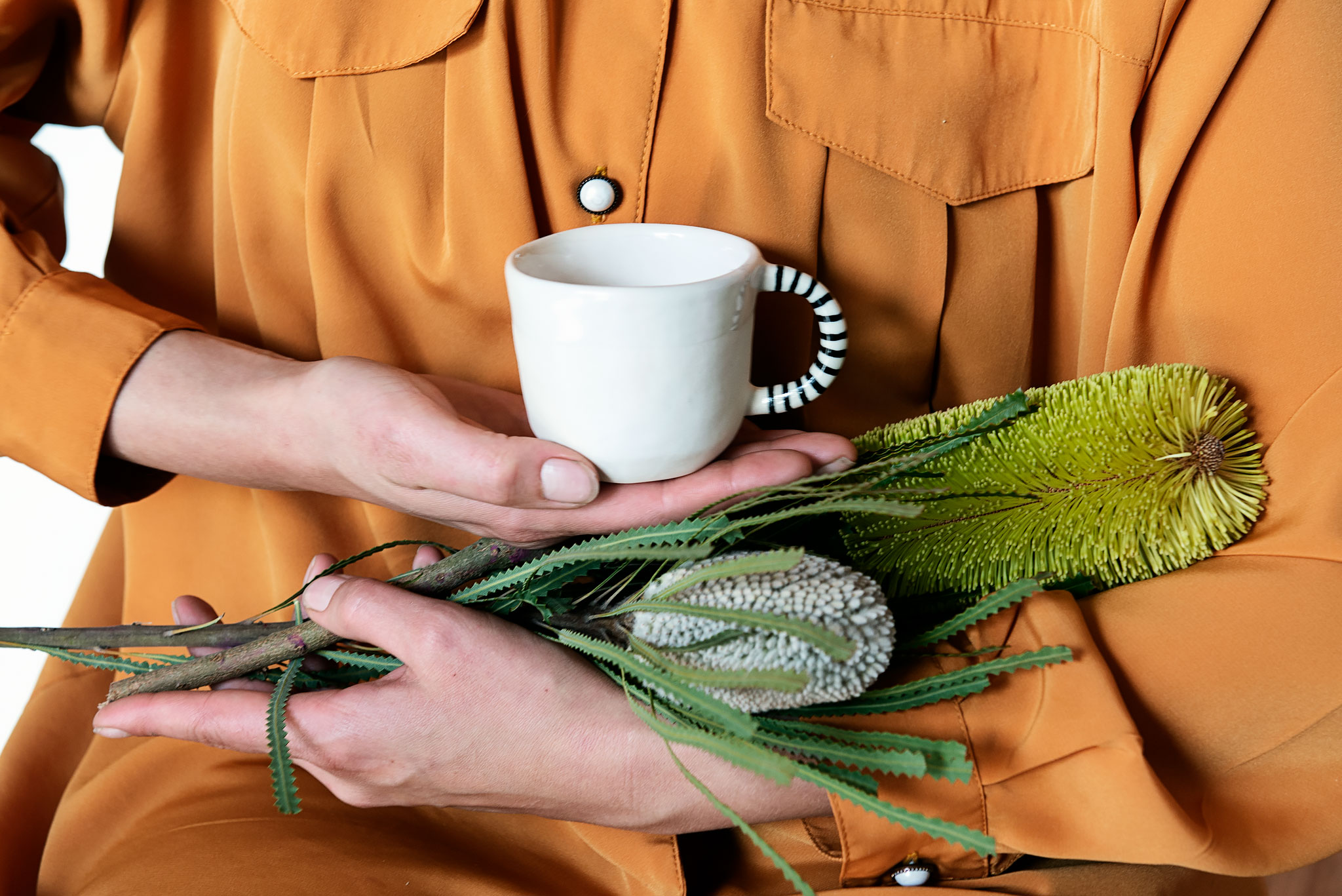 Peta Berghofer, Housebound, Small Mug & flowers.jpg