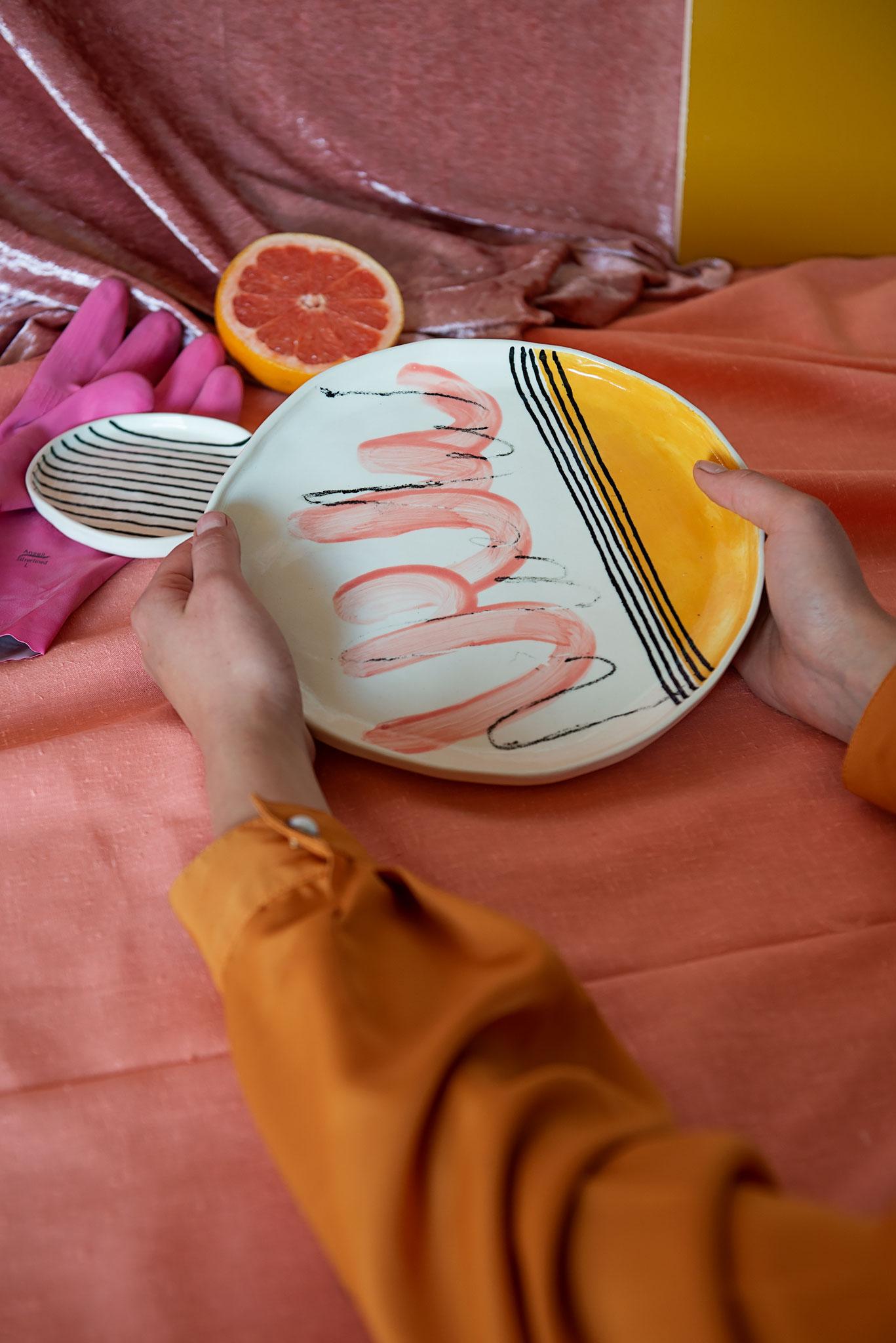 Peta Berghofer, Housebound, Large plate.jpg