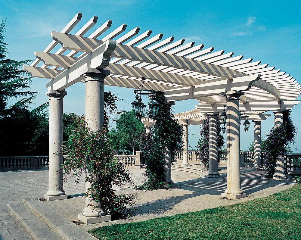 Tuscan Smooth Columns
