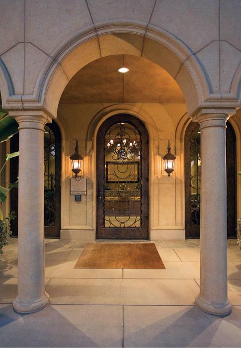 GFRC Tuscan Smooth Columns