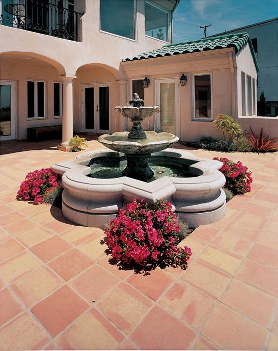 Arabesque Floor Fountain