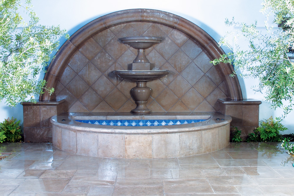Fountain Bowl & Pavers