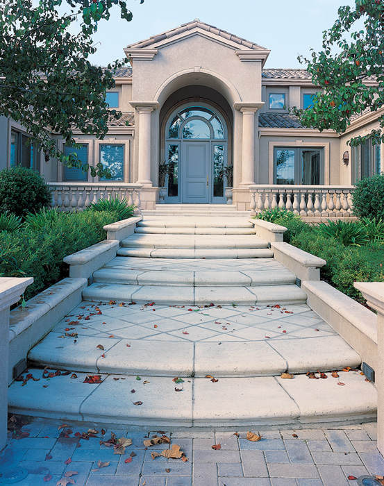 Stair Treads, Wall Caps, Balustrade System, etc.