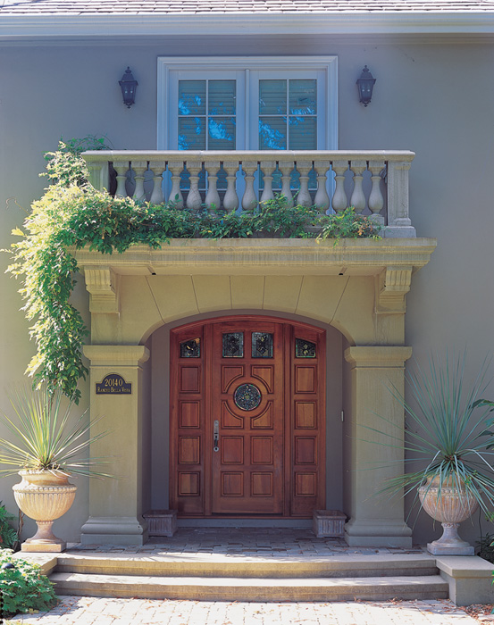 Archway, Pilasters, Stair Treads, etc.