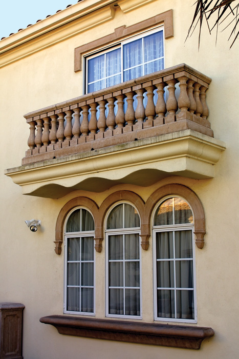 Window Arches, Sills, Plinths, etc.