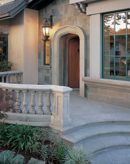 Balustrade System Style II with Custom Balusters