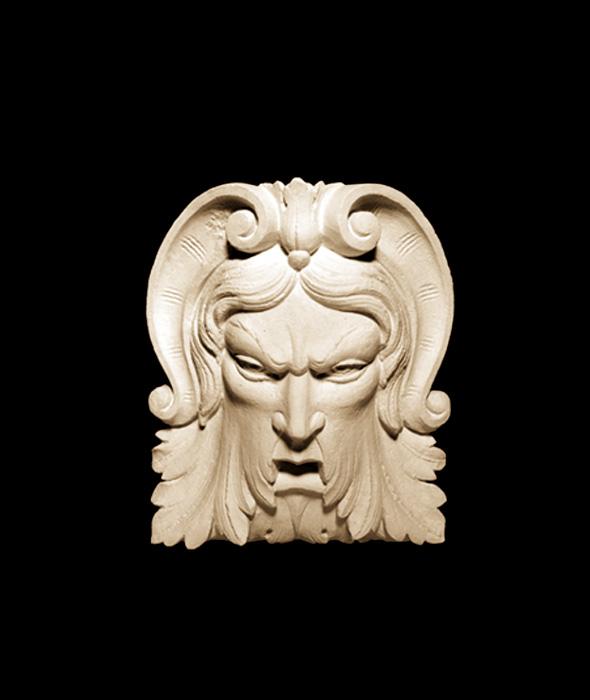 Zeus Wall Mask