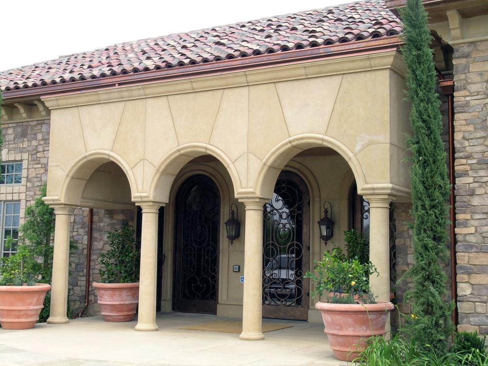 Columns, Arch Moldings, Veneer, etc.