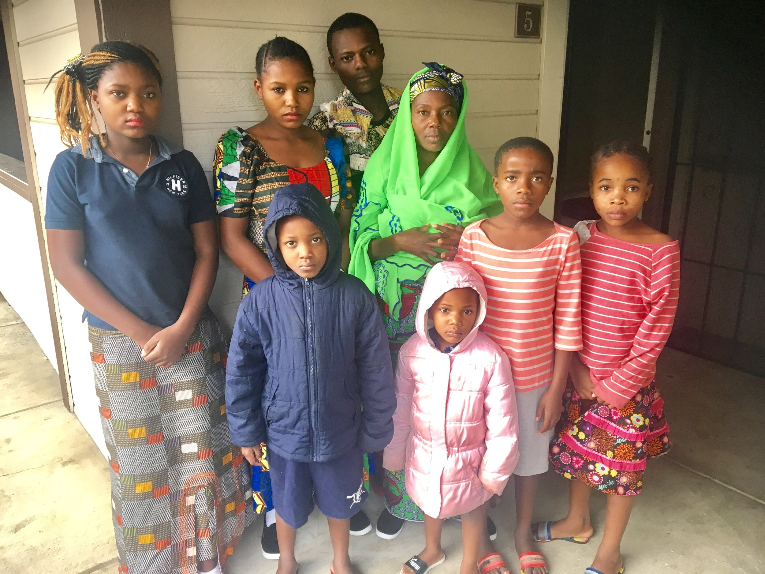 Assisted over 20 refugee families with housing needs -