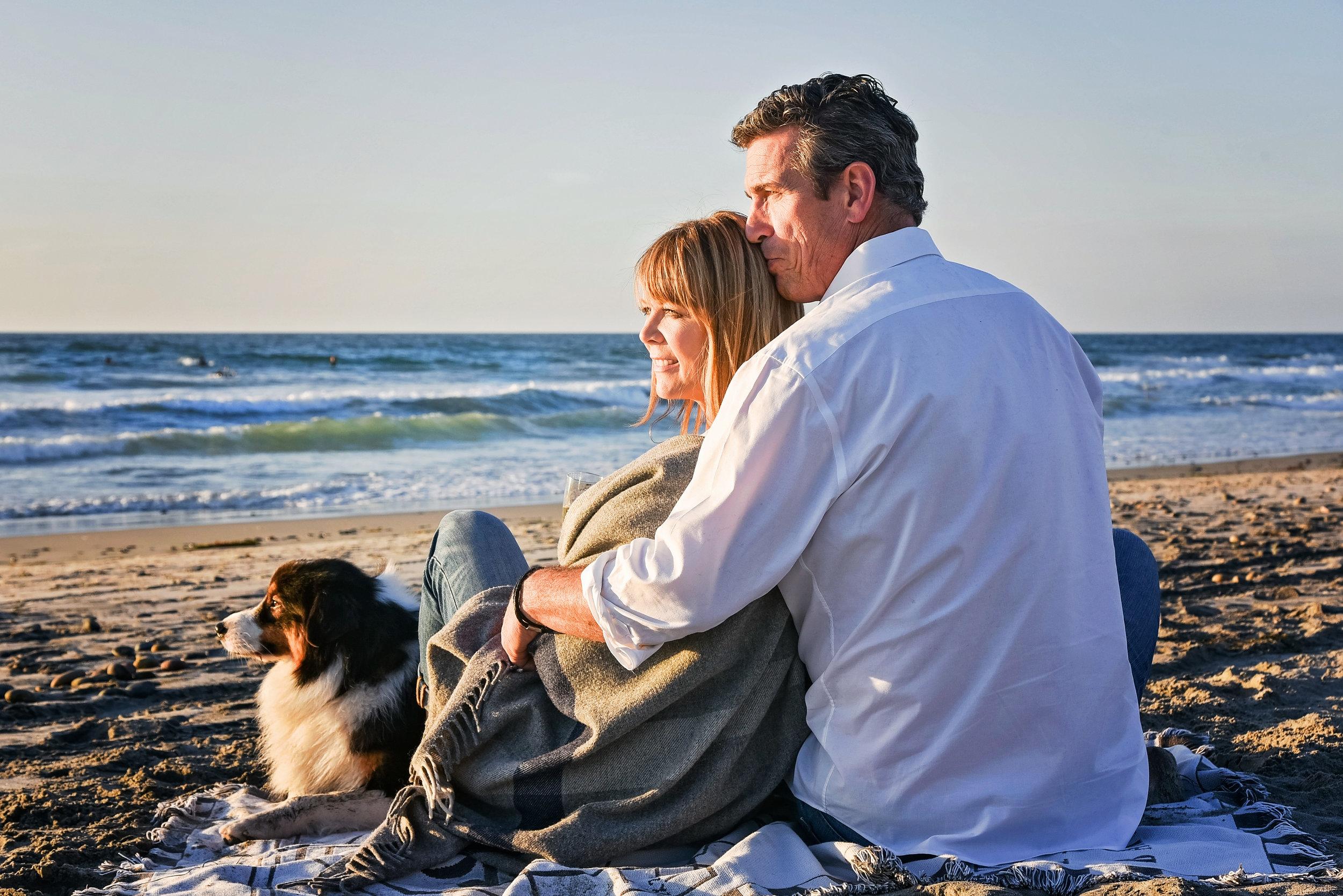Couple with Dog | Washington DC Photographer | Lifestyle & Fashion Photographer