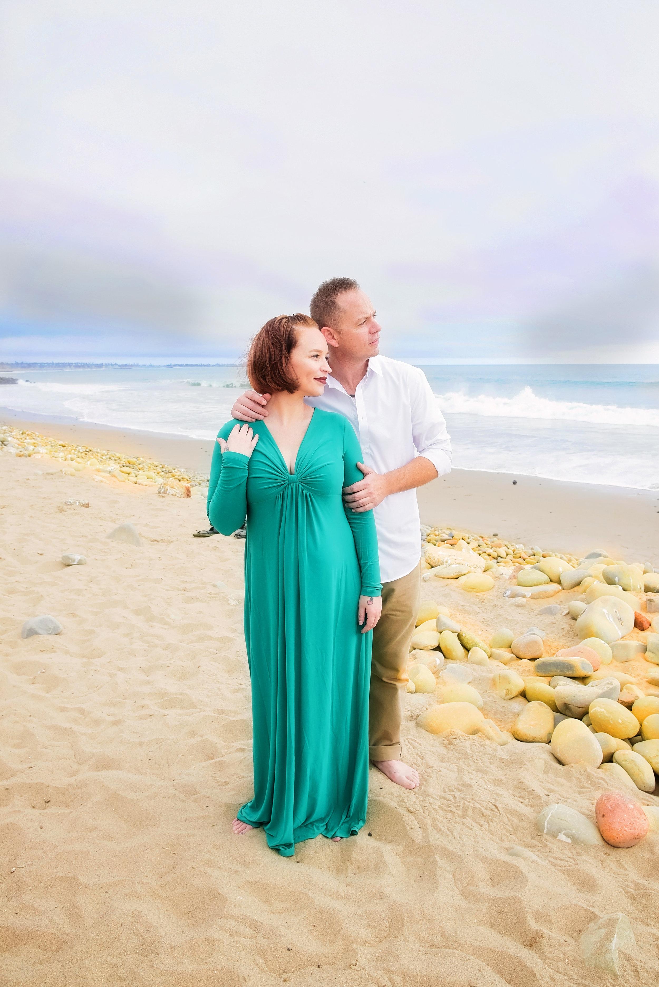 Couple at Beach | Washington DC Photographer | Wedding Lifestyle & Fashion Photographer