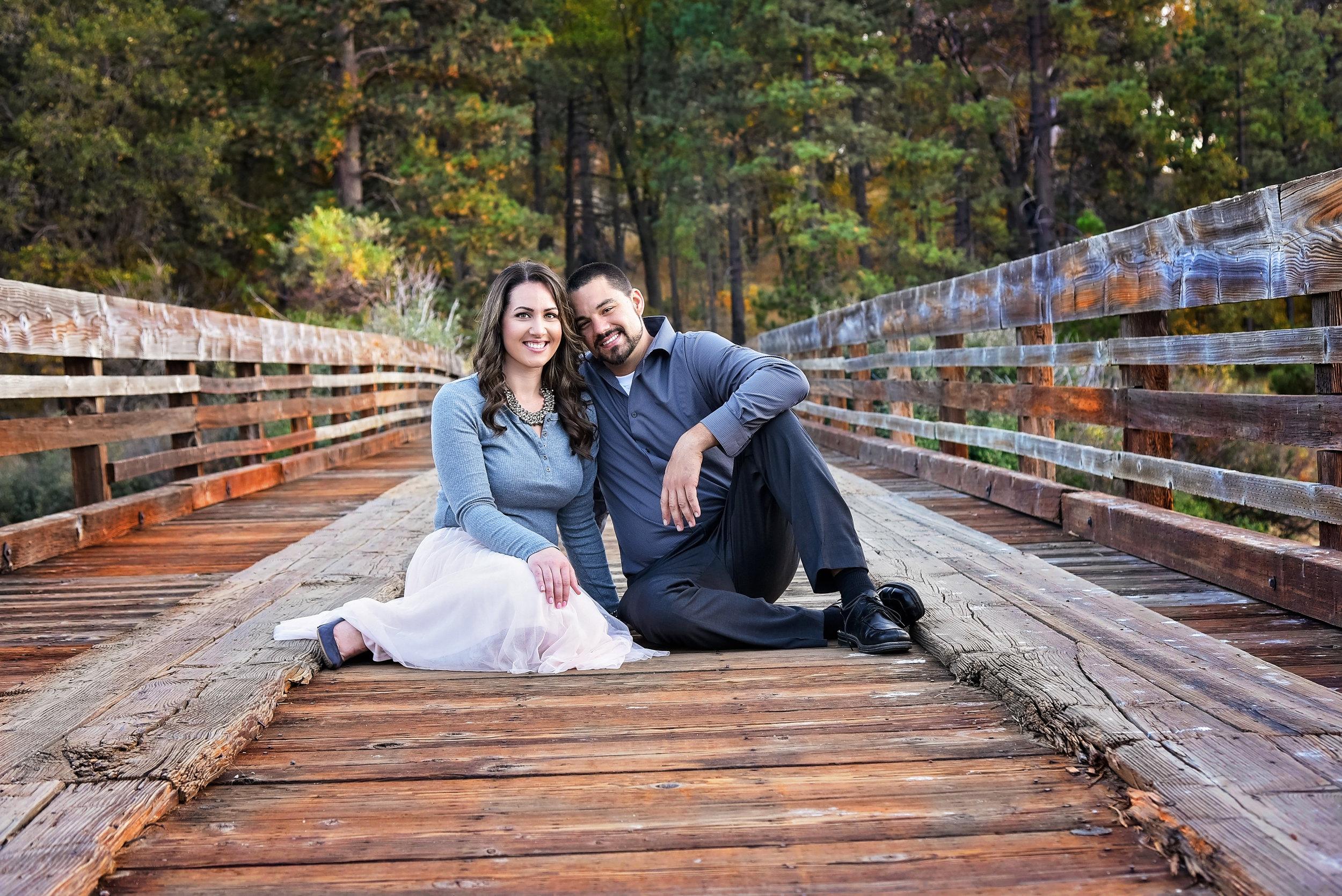 Couple Bridge | Washington DC Photographer | Wedding Lifestyle & Fashion Photographer