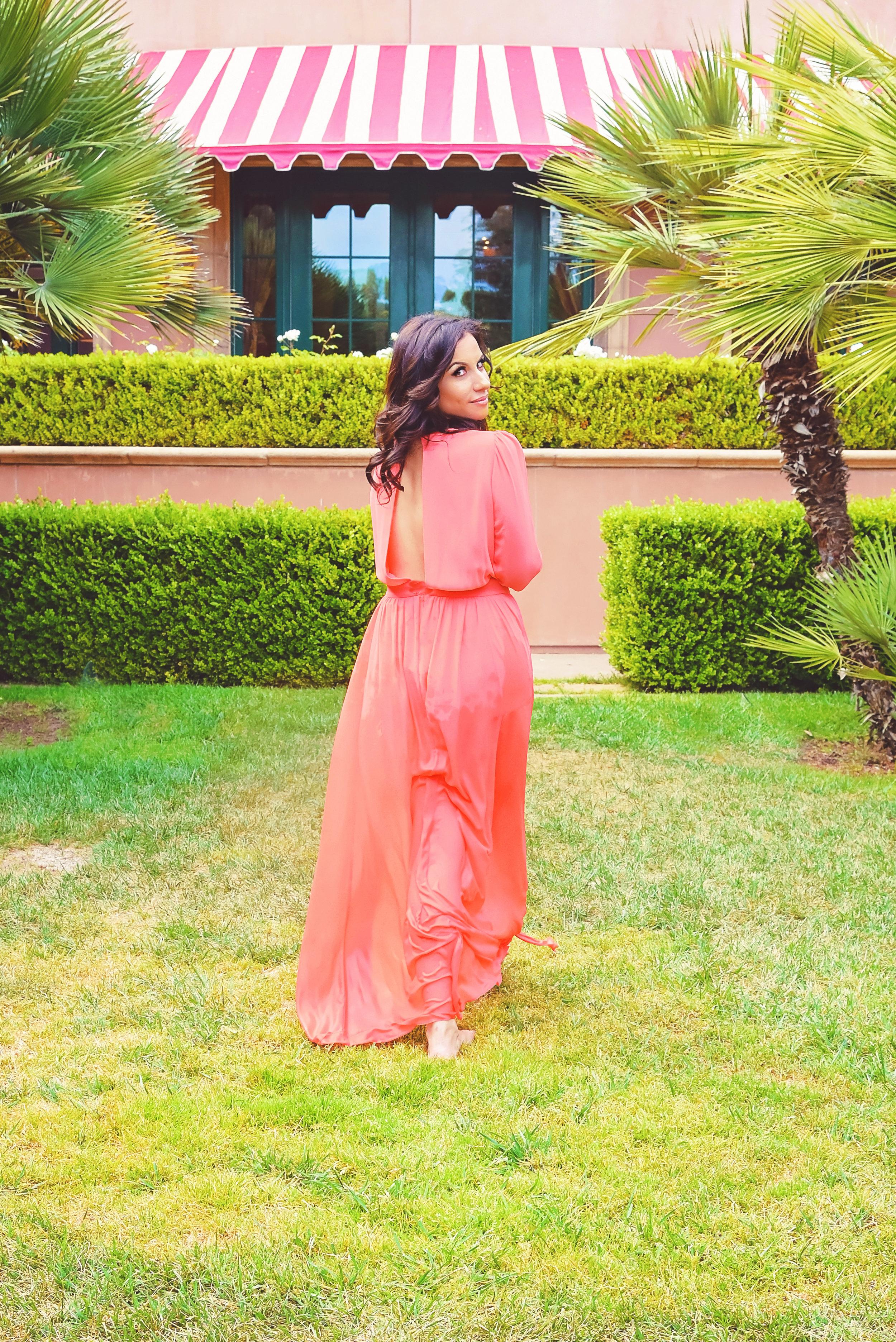 Fashion Pink Dress | Fashion Photography | Lacey O