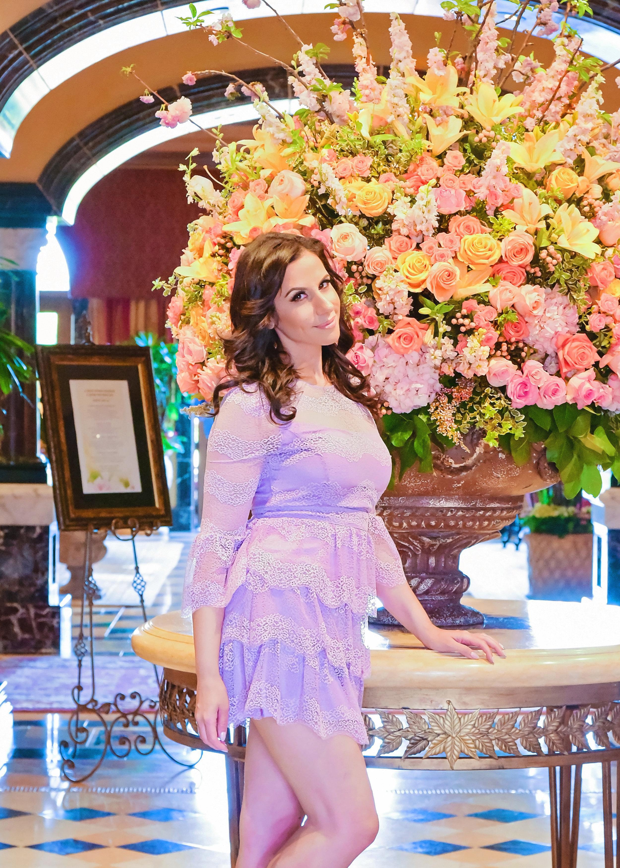Fashion Purple Dress | Fashion Photography | Lacey O